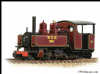 BACHMANN 391-031DS Baldwin 10-12-D Tank 590 Welsh Highland Maroon-Sound Fitted